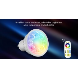 SPOT GU10 4W RGB + CCT...