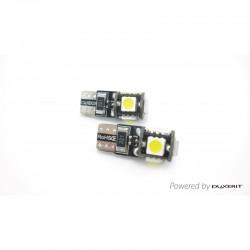 W5W T10 - AMPOULES LED SMD5
