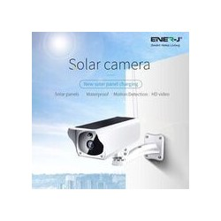 CAMERA A ENERGIE SOLAIRE