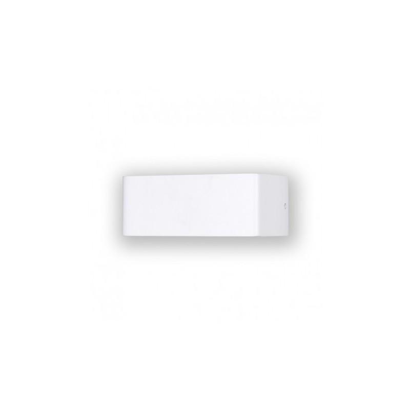 applique murale led rectangle blanc 6w ip20 3000 k. Black Bedroom Furniture Sets. Home Design Ideas