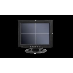 Ecran 12'' CCTV AHD BNC, Quad